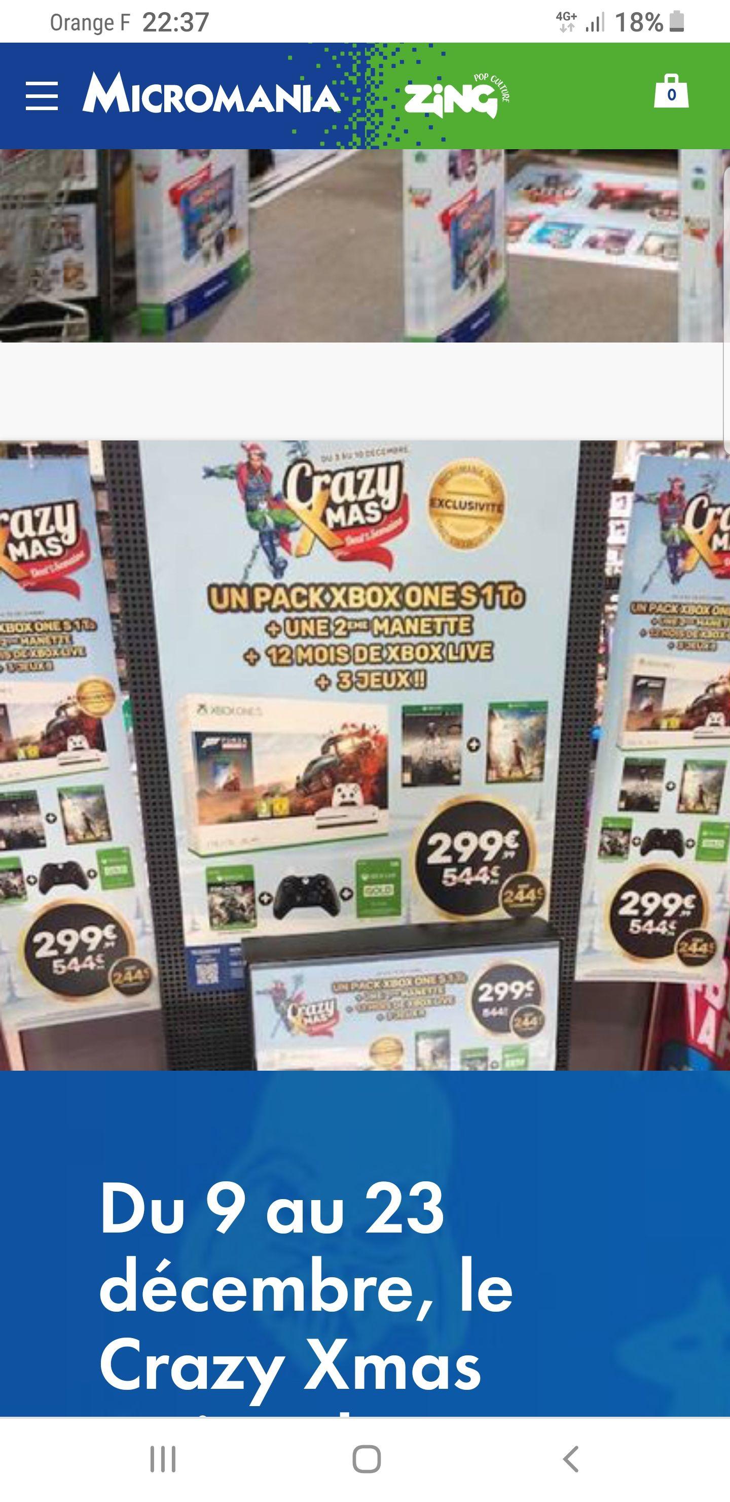 Pack Console Xbox One S - 1 To + 2ème Manette + Abonnement Xbox Live Gold 12 Mois + 3 Jeux