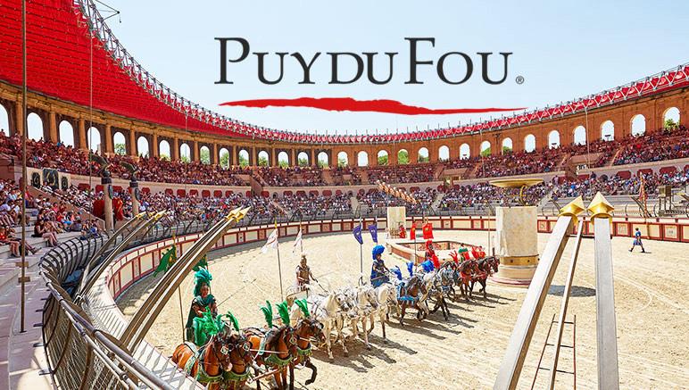 Sélection de Billets Adultes en Promotion pour le Puy du Fou (85) - Ex: 1 Jour