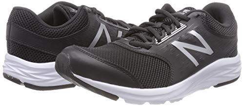 Sélection de chaussures de course New Balance 411 pour Femmes en promotion - Ex: Noir Black Silver (Taille 36.5)