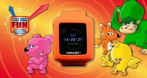 [Panier Plus] Montre enfant Videojet Lecteur MP3 avec Carte microSD 2 Go