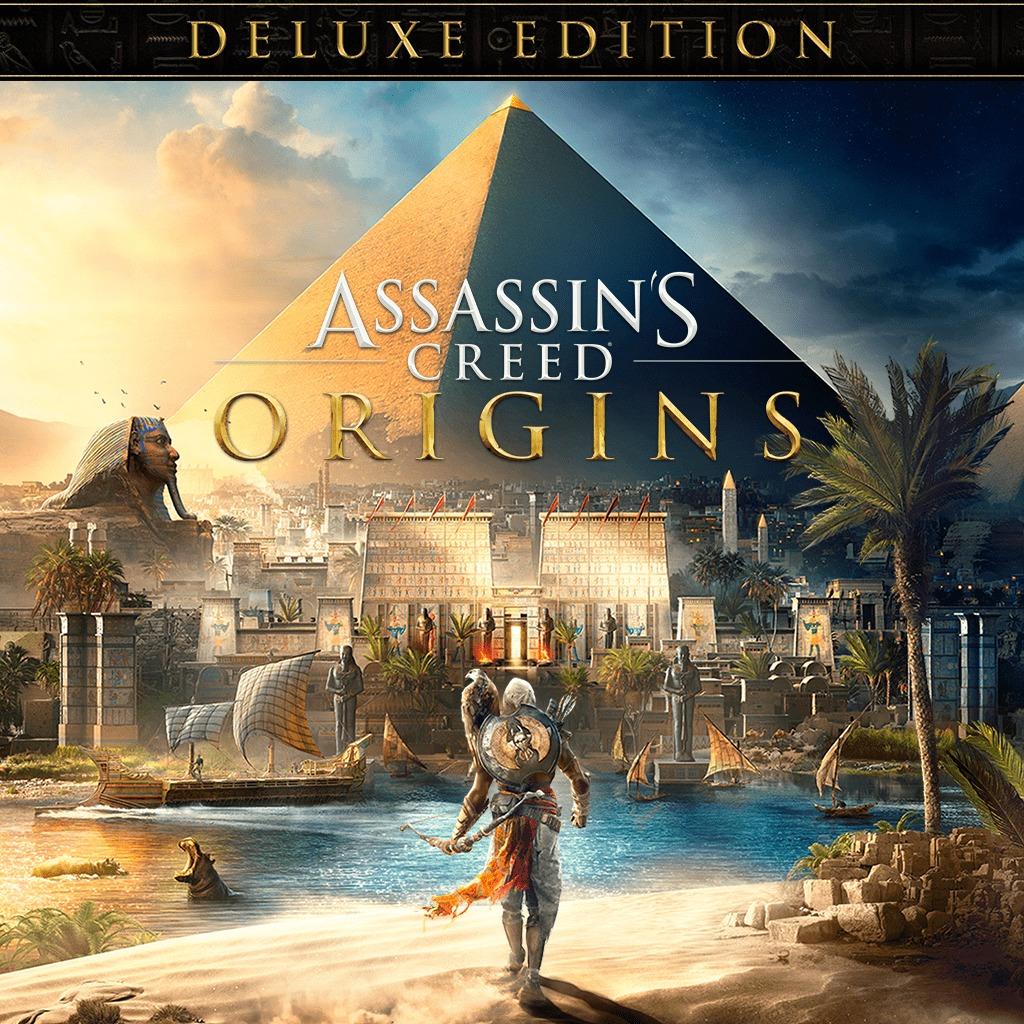 Assassin's Creed Origins Edition Deluxe sur PS4 (Dématérialisé)