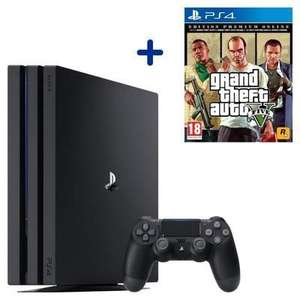 Pack Console PS4 Pro - 1 To + Grand Theft Auto V Edition Premium