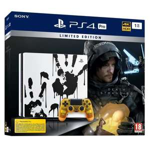 Pack Console PS4 Pro Edition Limitée - 1 To + Death Stranding