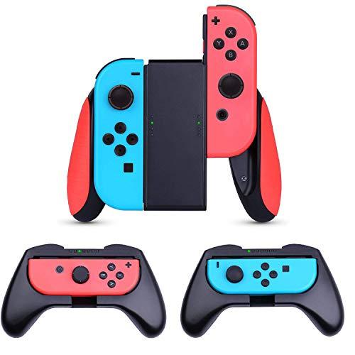Grips Heystop pour Manettes Nintendo Switch Joy-Con - 3 Pièces