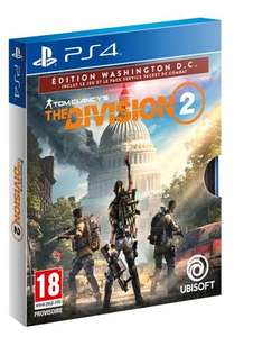 Tom Clancy's : The Division 2 Edition Washington DC sur PS4 ou Xbox One