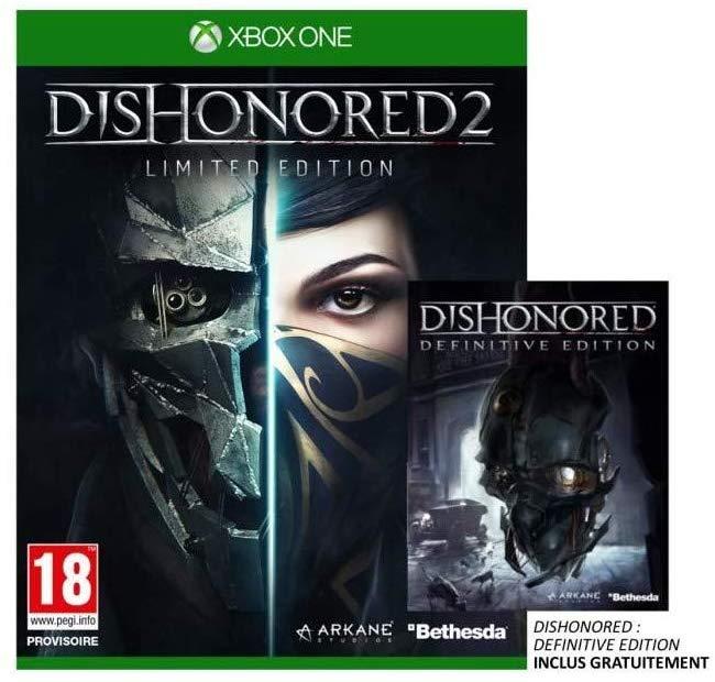 Dishonored 2 - Édition Limitée + Dishonored - Édition Definitive sur Xbox One (vendeur tiers)