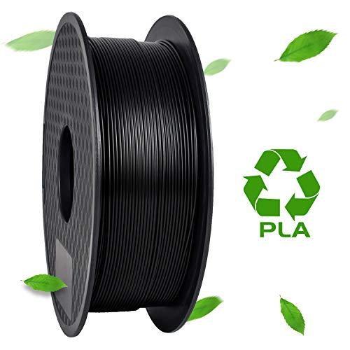 Filament PLA Geeetech pour imprimante 3D - 1.75mm, 1kg, noir (vendeur tiers)