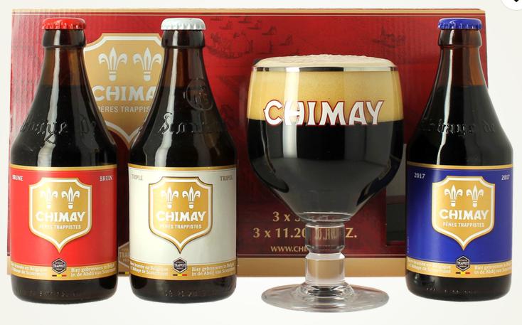 Pack 3 bières Chimay + verre - Voglans (73)