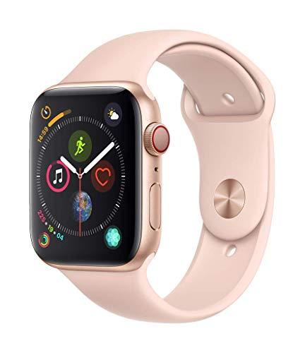 Montre connectée Apple Watch Series 4 (GPS + cellular) - aluminium or, 44mm
