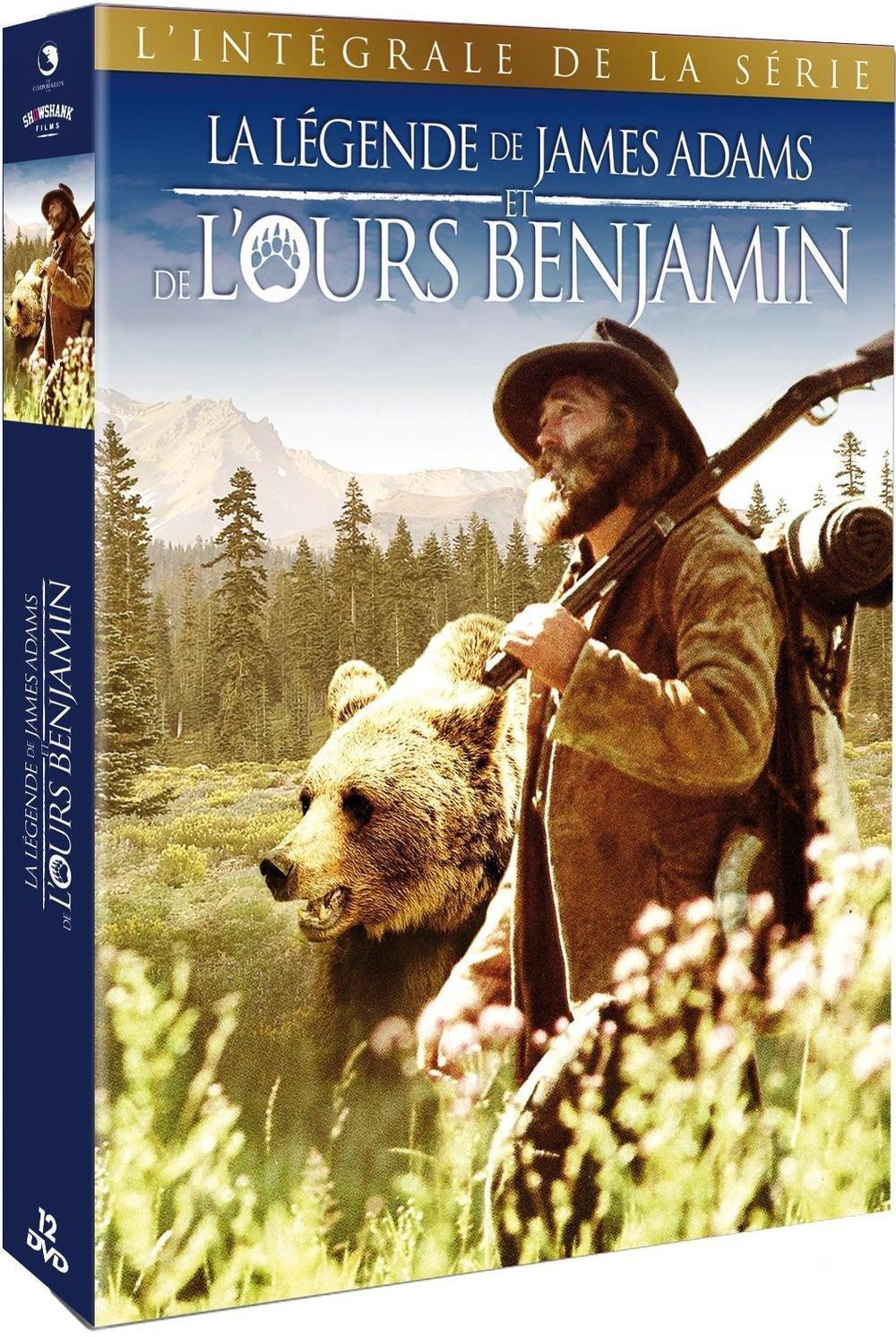 Coffret DVD Intégrale La légende de James Adams et l'ours Benjamin