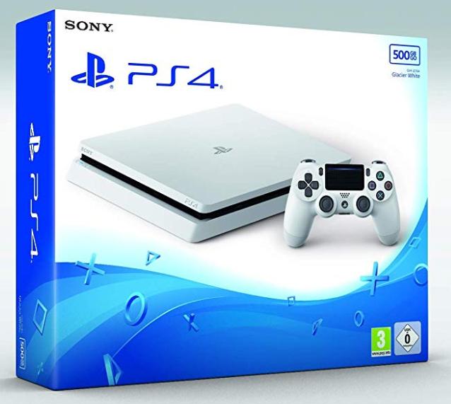 Console Sony PS4 Slim - 500Go, Blanche