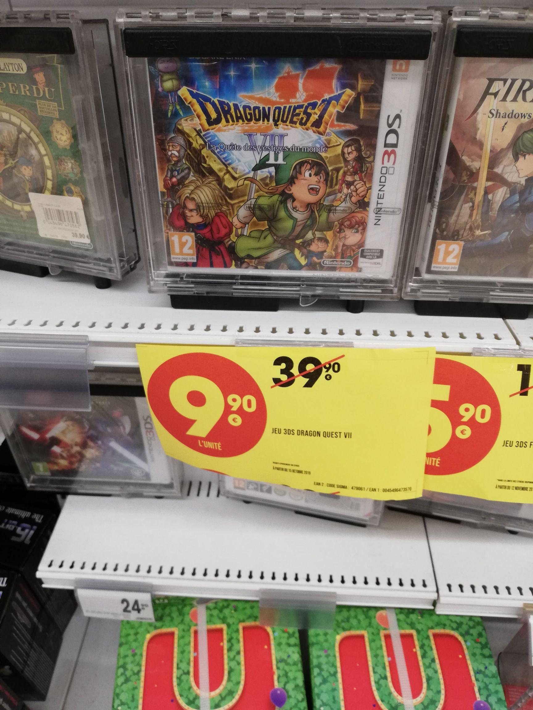 Dragon Quest VII sur Nintendo 3DS - Exincourt (25)
