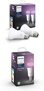 Pack 3 ampoules E27 LED Philips Hue White & Color Ambiance