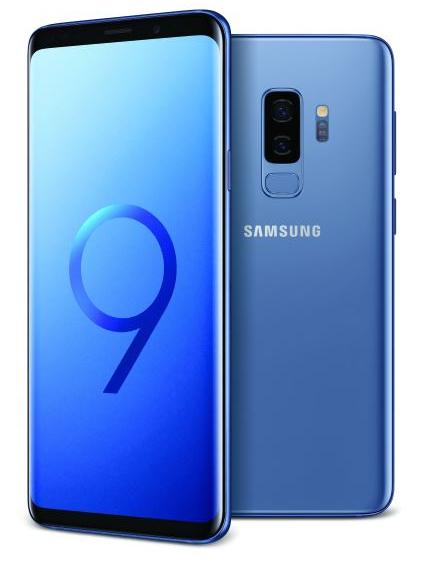 "Smartphone 6.2"" Samsung Galaxy S9+ Plus - 64 Go, Double SIM, Bleu (Vendeur Tiers)"