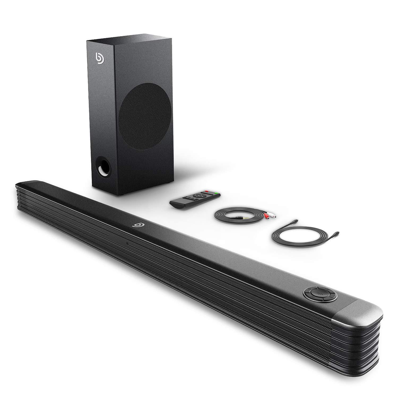 Barre de Son 2.1 avec caisson de basses - Bluetooth (vendeur tiers)