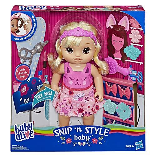 Poupée Hasbro Baby Alive - Coiffure Magique (Cheveux blonds)