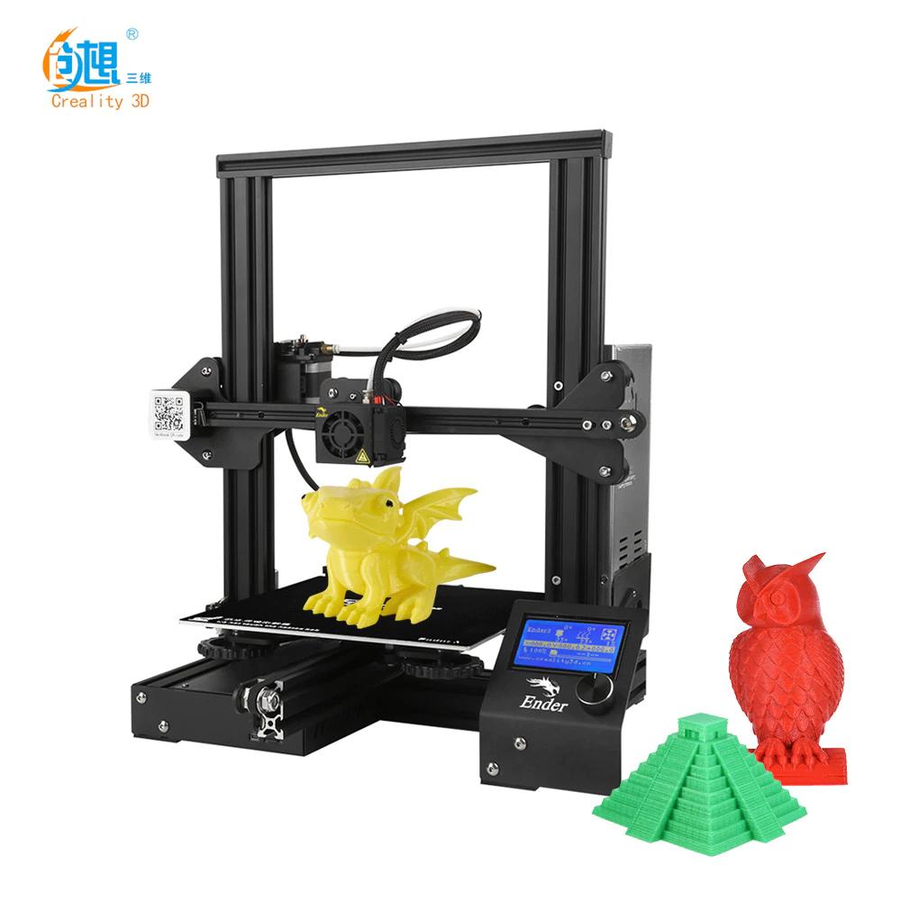Imprimante 3D Creality Ender 3 (141,64€ avec AWARDS2019 - Entrepôt EU)