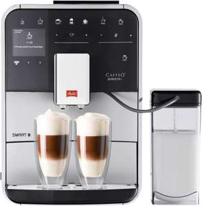 Machine à expresso automatique avec broyeur de grains Melitta Barista T Smart F83/0-101 - 1450 W (via ODR de 70€)