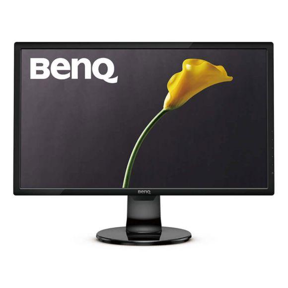"""Ecran PC 24"""" BenQ GL2460BH - FHD, Dalle TN, 1ms, 75Hz VGA, DVI, HDMI"""