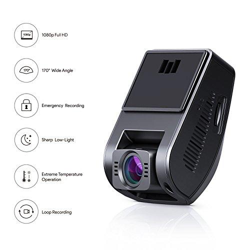 Dashcam Aukey DR02 - Full HD 1080P 170° WDR, Vision Nocturne (vendeur tiers)