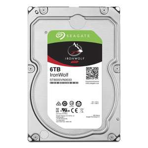 "Disque Dur Interne 3,5"" Seagate NAS Ironwolf (ST6000VN0033) - 6 To, 7200 tr/min"