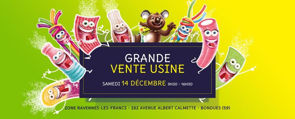 Vente d'usine Lutti: Sélection de bonbons en promotion - Bondues (59)