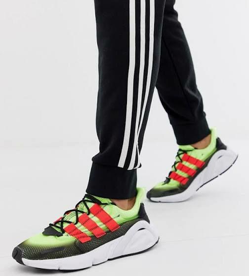 Baskets Adidas Originals LX CON Adiprene - Vert-Bleu, Plusieurs taille au choix