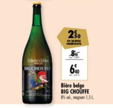 Magnum de bière Big Chouffe