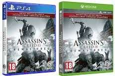 Assassin's Creed 3 Remastered + Assassin's Creed Liberation sur PS4 ou Xbox One