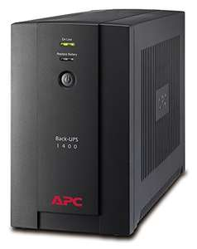 Onduleur APC Back-UPS BX BX1400U-FR - 1400VA (AVR, 4 Prises FR, USB, Logiciel d'arrêt)
