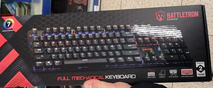 Clavier mécanique Battletron - Azerty, RGB