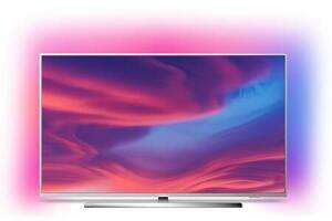 """TV 65"""" Philips The One 65PUS7354 - 4K UHD, LED, Smart TV, Ambilight 3 côtés, Android TV"""