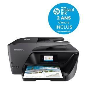 Imprimante HP OfficeJet Pro 6970 + Forfait Instant Ink de 300 pages/mois pendant 24 mois