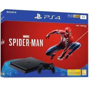 Console Sony PS4 1 To + Marvel's Spider-Man Edition Standard