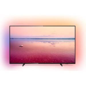 "TV 50"" Philips 50PUS6704/12 - 4K UHD, Ambilight 3 côtés"
