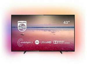 "TV 43"" Philips 43PUS6704 - 4K UHD (+38€ offerts en SuperPoints)"