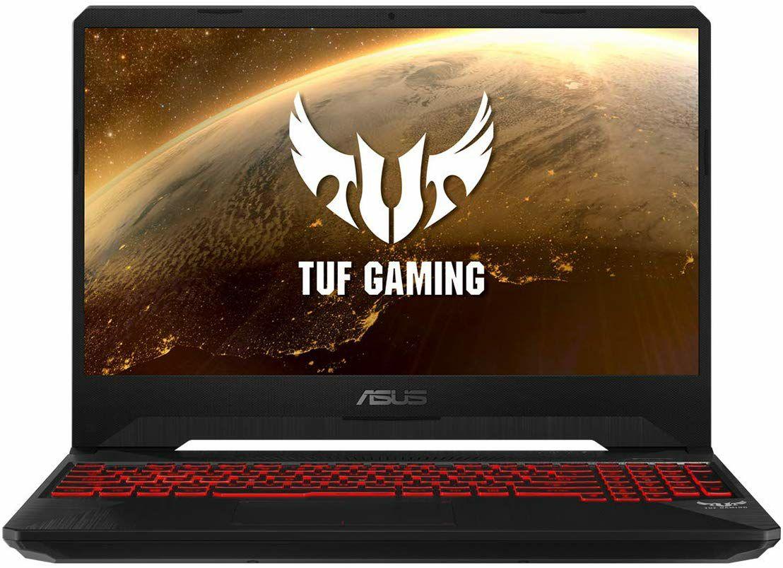 """PC Portable 15.6"""" Asus TUF FX505DY-BQ024 - Full HD, Ryzen 5 3550H, RAM 8Go, 512Go SSD, Radeon RX560X 4Go (Sans OS - Qwerty)"""