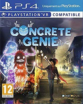 Concrete Genie sur PS4 (VR)