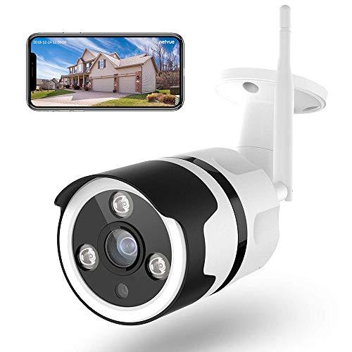 Caméra de Surveillance WiFi Exterieure (Compatible Alexa)
