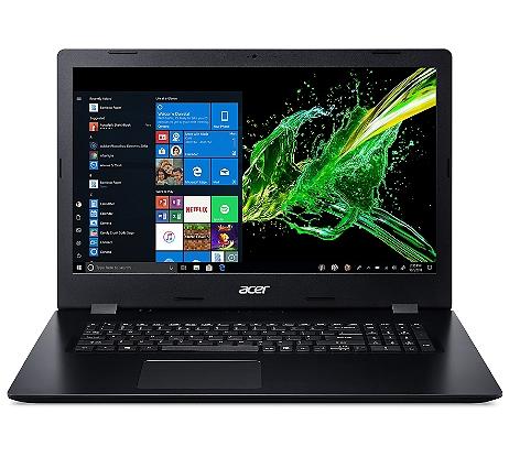 "PC Portable 17.3"" Acer Aspire 3 A317-51G-74YZ - i7-8565U, 8Go RAM, 1To HDD + 256Go SSD, MX250 2Go"