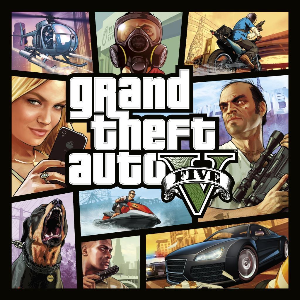 GTA V sur PS4 (Dématérialisé)