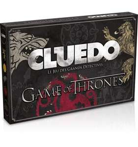 Jeu de Société Cluedo Games of Thrones - Hauts de France