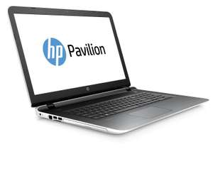 "PC Portable 17.3"" HP Pavilion 17-g118nf (Intel Pentium, 8 Go de RAM, Disque Dur 1 To, Windows 10) - Blanc"
