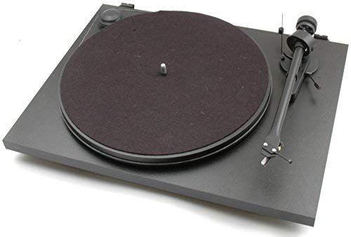 Platine vinyle Pro-Ject Essential II OM10 FR - Noir mat