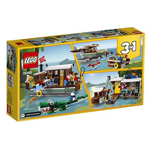 Jeu de construction Lego Creator 3-en-1 - La péniche au bord du fleuve (31093)