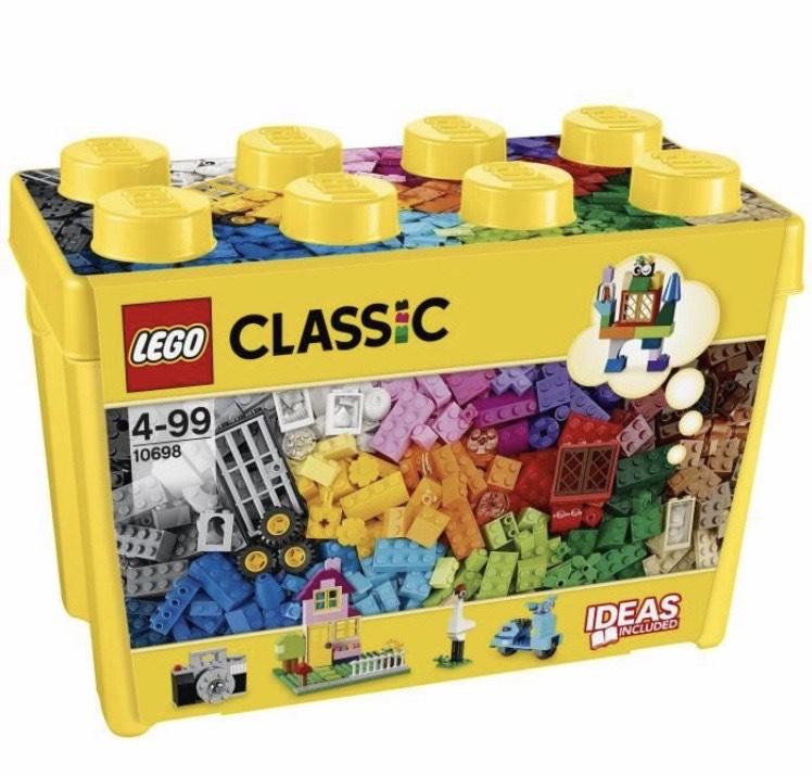 Boîte de Briques Lego Classic Classic 10698 - 790 pièces
