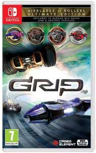 GRIP: Combat Racing Roller VS Airblades Ultimate Edition sur Nintendo Switch