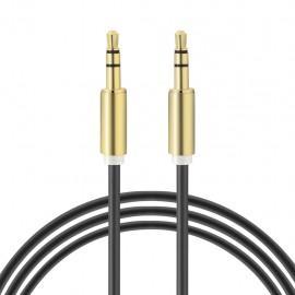 Câble Jack 3.5mm Mâle/Mâle 1m Gratuit (plusieurs coloris)