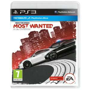 Need for Speed : Most Wanted sur XBOX 360 à 24.99€ et sur PS3