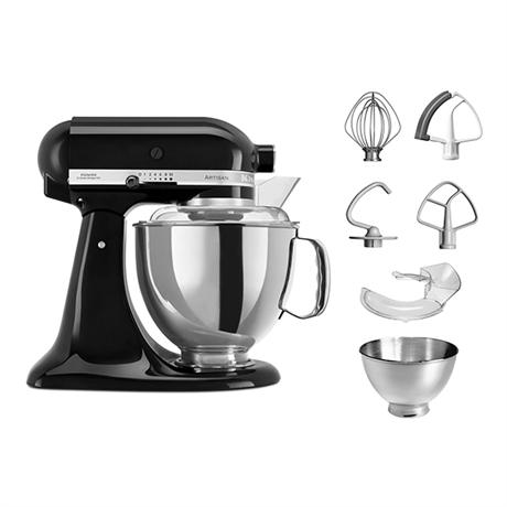 Robot pâtissier KitchenAid Artisan 5KSM175PS + Hachoir KitchenAid offert (valeur 130€)